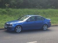 BMW 318i m sport Estoril blue 2004