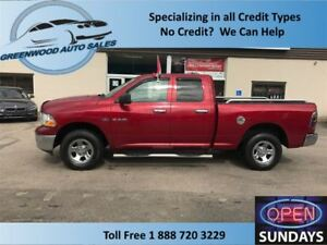 2010 Dodge Ram 1500 4X4 LOW KM'S (105620 KM'S) NICE LOOKING TRUC