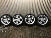 "Genuine 18"" Audi A3 Sport Alloy Wheels- 5x112 - will fit VW, Seat , Skoda etc"