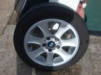 BMW 1 SERIES ALLOY WHEELS AND TYRES
