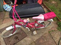 Bumper Sparkle bike with 18 inch wheels