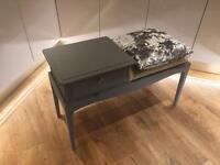 Stag minstrel up cycled telephone table