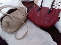 2 handbags