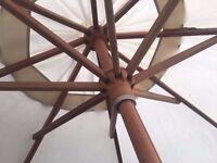 Parasol / sunshade - solid hardwood (by Alexander Rose)