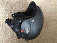 Black Ski Helmet