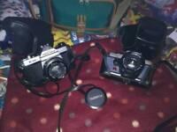 2x SLR Cameras