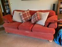 3 person settee with matching armchair