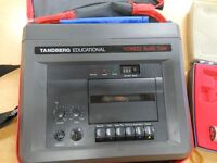 Tandberg Teaching equipment and microphone Hardly used, fully functioning. Good mellow sound