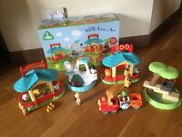 ELC Happy Land Zoo play set. 18+ months