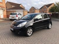 NISSAN NOTE ACENTA 1.5 DIESEL, TAX £30, MOY JUNE 2019, CRUISE, BLUETOOTH