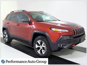 2016 Jeep Cherokee Trailhawk * NAV * Leather * Pano Roof