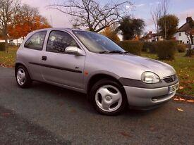 1999 Vauxhall Corsa 1.4 i 16v Sport 3dr Full service History