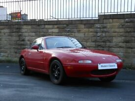 MAZDA MX5 1.6I ROADSTER UK CAR WITH HARDTOP MK1