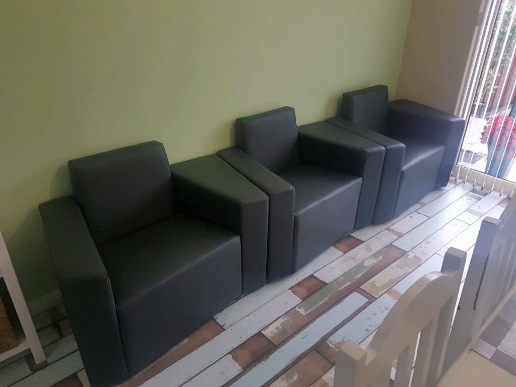 Reception or waiting room chairs very high quality
