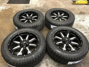 "20"" FAST HD Series Wheels 6x139.7 and Winter Tire Package 275/55R20 (GMC, Chverolet 1500) Calgary Alberta Preview"