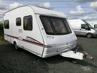 2006 Swift Charisma 535 Fixed bed 4 berth Lightweight