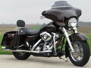 2007 harley-davidson FLHX Street Glide   Merlot Pearl and Stage  London Ontario image 4