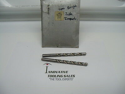 21/64 Jobber Length HSS Drill FS Bright Import Brand 2pcs
