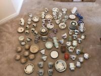 82 Assorted vintage tea cups, saucers, tea plates and jugs, including Denby and Bone China