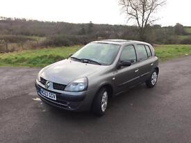 Renault Clio 1.2 petrol ⛽️ 12 month mot