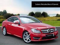 Mercedes-Benz C Class C220 CDI AMG SPORT EDITION PREMIUM PLUS (red) 2015-06-24