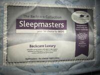 SOLD - Free Sleepmasters double mattress