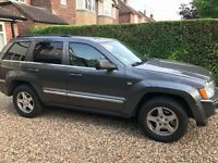 JEEP GRAND CHEROKEE 3.0 CRD, AUTO, GREY, FULL SPEC