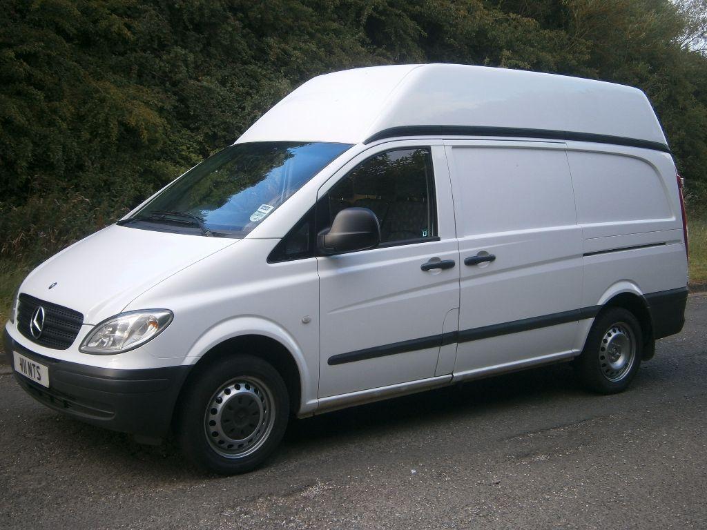 2008 mercedes benz vito lwb high roof van one company for Mercedes benz vito vans for sale