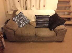 1 two seater sofa & sofa bed