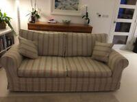 Sofas John Lewis/Parker Knoll 3 Seater X 2