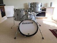 Drum Kit - Ludwig Breakbeats Questlove Drums - White Sparkle