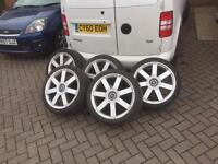 "Ford 18"" alloy wheels"