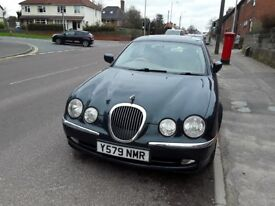 S type jaguar 2001 3 litre mot till march 2019 sunroof e/windows very good condition