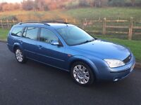 2003 FORD MONDEO GHIA X TDCI ESTATE