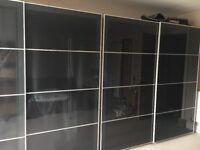 Ikea PAX double wardrobe x 2