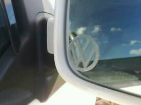 X2 VW etched glass Wing Mirror window logo decal sticker