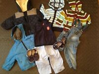 Boy Clothes 0 - 12 months bundle, Second Hand, Nearly New