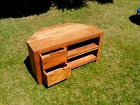 NEXT CORNER TV UNIT IN SOLID WOOD