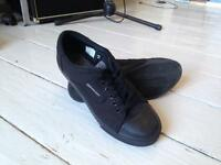 As New - Dunlop 'Green Flash' retro shoes - size 8