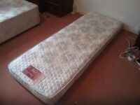 Free single bed matress with bed block