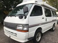 1998 Rust Free TOYOTA HIACE POP TOP FRESH IMPORT 4 BERTH CAMPERVAN 4WD