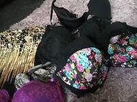 Ladies size 24 bather and bra bundle