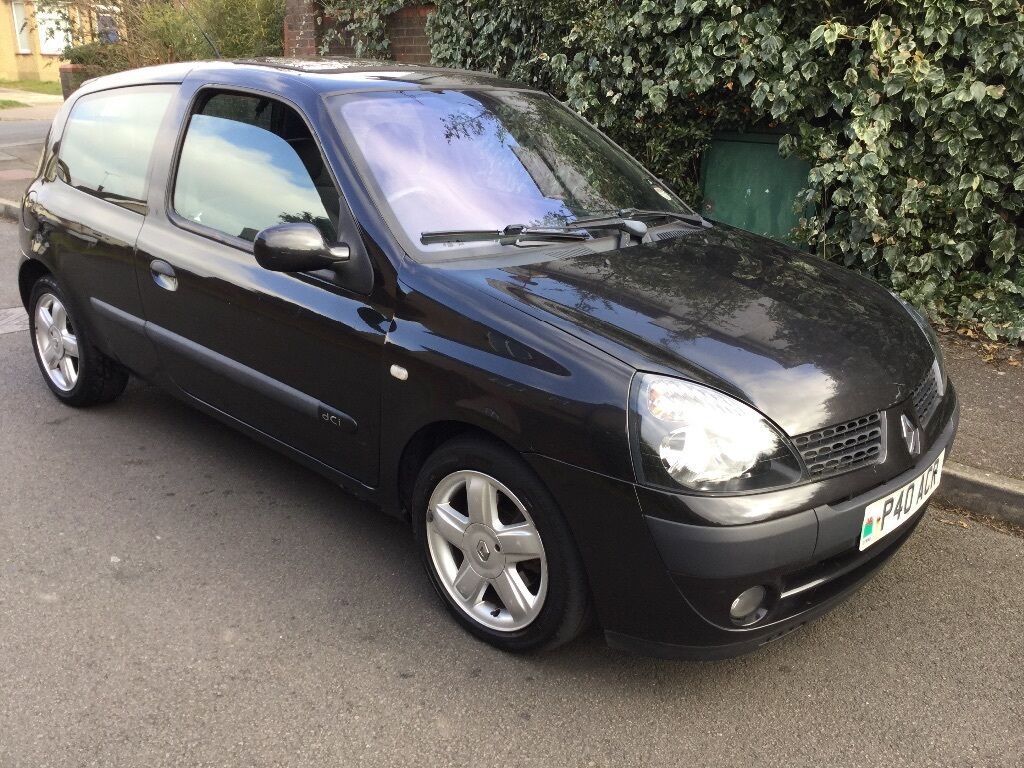 renault clio dci 65 1461cc turbo diesel 5 speed manual 3 door hatchback 03 plate 07 02 2003. Black Bedroom Furniture Sets. Home Design Ideas