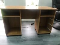 Large office desk with draws