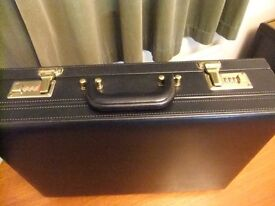 Business / Brief Case with combination lock. Marks & Spencer. Used once only. Perfect condition.