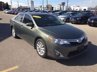 2012 Toyota Camry XLE MOON ROOF HEATED TAN LEATHER TOUCH SCREEN