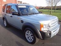 2007 LAND ROVER DISCOVERY 3 2.7 TD V6 XS 5dr F/S/H DIESEL AUTO 7 SEATER STUNNING