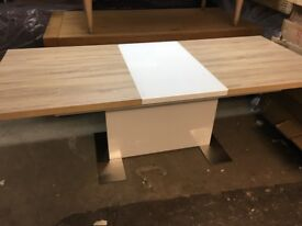 Harvey's New/Ex Display Vieux Extending Dining Table