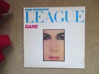 The Human League 'Dare' original vinyl LP