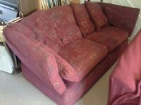 Sofa cosy 3 Seater along with useful matching Storage Footstool